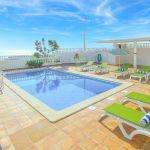 Ferienhaus Algarve ALS3012- Poolterrasse