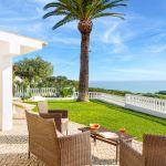 Ferienhaus Algarve ALS3012- Terrasse mit Meerblick