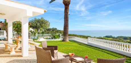 Ferienhaus Algarve Rafael 3012 mit beheizbarem Pool und Meerblick für 6 Personen. An- und Abreisetag Samstag – Nebensaison flexibel auf Anfrage, Mindestmietzeit 1 Woche.