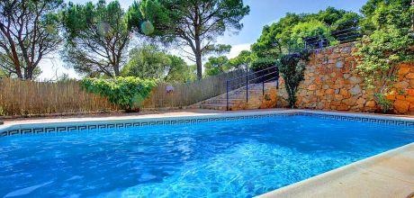Ferienhaus Costa Brava Tamariu 4140 mit beheizbarem Pool für 8 Personen, Strand = 450m. An- und Abreisetag Samstag.