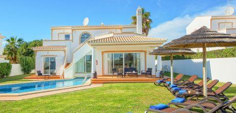Ferienhaus Algarve Sao Rafael 4601 mit Pool und Internet für 8 Personen, Strand = 500 m. An- und Abreisetag Samstag, Nebensaison flexibel auf Anfrage.