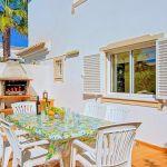 Ferienhaus Algarve ALS4606 Grillbereich mit Esstsich