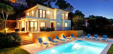 Ferienhaus Costa Brava Tamariu 4202 mit Pool und Meerblick für 8 Personen, Strand = 500 m. An- und Abreisetag Freitag.