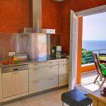 Ferienhaus Costa Brava CBV3163 Küche mit Zugang zur Terrasse