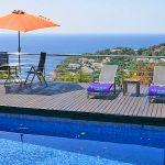 Ferienhaus Costa Brava CBV3163 Meerblick vom Poolbereich