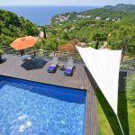 Ferienhaus Costa Brava CBV3163 Poolterrasse mit Sonnensegel