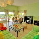 Ferienhaus Costa Brava CBV3163 Wohnraum mit Sitzecke
