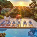 Ferienhaus Costa Brava CBV63516 Ausblick über den Pool