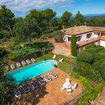Ferienhaus Costa Brava CBV63516 Blick auf den Poolbereich