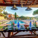 Ferienhaus Costa Brava CBV63516 Esstisch am Pool