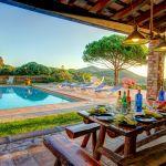 Ferienhaus Costa Brava CBV63516 Esstisch am Swimmingpool