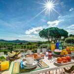 Ferienhaus Costa Brava CBV63516 Esstisch auf der Terrasse