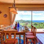 Ferienhaus Costa Brava CBV63516 Esszimmer mit Meerblick