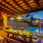 Ferienhaus Costa Brava CBV63516 Grillbereich mit Esstisch