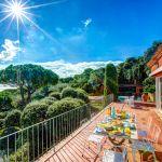 Ferienhaus Costa Brava CBV63516 Meerblick von der Terrasse