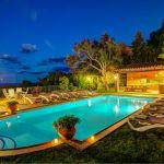 Ferienhaus Costa Brava CBV63516 Pool und Grillhaus beleuchtet