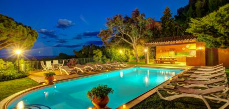 Ferienhaus Costa Brava Palafrugell 63516 mit privatem Pool und Internet für 12 Personen, Strand = 3,5km. An- und Abreisetag Samstag.