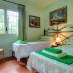 Ferienhaus Costa Brava CBV63516 Schlafraum mit 2 Betten (2)