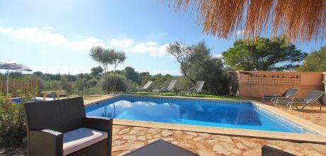 Südostküste Mallorca: Ferienhaus Calonge 2299 mit Pool und Kinderbecken für 5 Personen zu mieten. An- und Abreise flexibel auf Anfrage – Mindestmietzeit 1 Woche! 2019 buchbar.