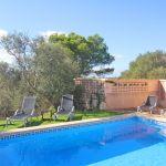 Ferienhaus Mallorca MA2299 Pool mit Sonnenliegen