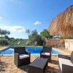 Ferienhaus Mallorca MA2299 Terrasse mit Gartenmöbel