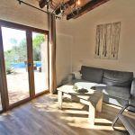 Ferienhaus Mallorca MA2299 Wohnraum mit Couch