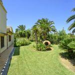 Ferienhaus Mallorca MA4808 Garten mit Palme