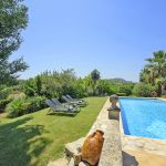 Ferienhaus Mallorca MA4808 Garten mit Pool