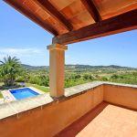 Finca Mallorca MA3928 Ausblick vom Balkon