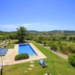 Finca Mallorca MA3928 Blick über den Swimmingpool