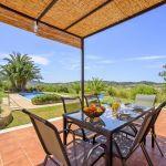 Finca Mallorca MA3928 Gartenmöbel auf der Terrasse