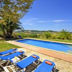 Finca Mallorca MA3928 Panoramablick vom Pool