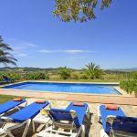 Finca Mallorca MA3928 Sonnenliegen am Pool