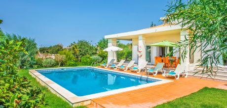 Villa Algarve Vale de Parra 3500 mit privatem Pool und Internet für 6 Personen. Strand = 2,6 km. An- und Abreisetag Samstag, Nebensaison flexibel auf Anfrage.