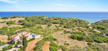 Villa Algarve mit Pool Sao Rafael 4603 mit Meerblick nur ca. 300 m vom Strand. An- und Abreisetag Samstag, Nebensaison flexibel auf Anfrage gegen Aufpreis.