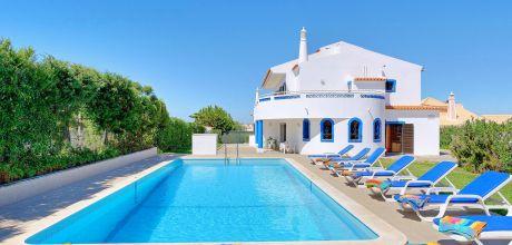 Villa Algarve Gale 5501 mit grossem Pool für 10 Personen, Strand = 1 km. An- und Abreisetag Donnerstag, Nebensaison flexibel auf Anfrage.