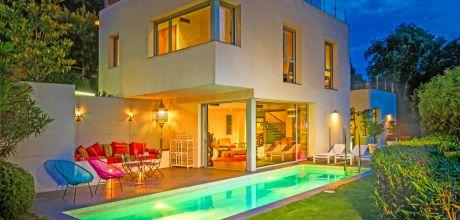 Villa Costa Brava Begur 4201 mit privatem Pool, Meerblick und Klimaanlage für 8 Personen, Strand 1,9 km. An- und Abreisetag Samstag.