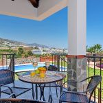 Ferienhaus Costa del Sol CSS4023 Gartenmöbel auf der Terrasse