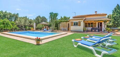 Mallorca Nordküste – Ferienhaus Pollensa 3184 mit Pool für 5 Personen, Strand = 5,2 km. An- und Abreisetag Samstag/Dienstag, Nebensaison flexibel auf Anfrage – Mindestmietzeit 1 Woche.