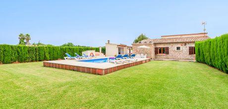Mallorca Nordküste – Ferienhaus Pollensa 3185 mit privatem Pool für 6 Personen, Strand = 3,5 km. An- und Abreisetag Samstag, Nebensaison flexibel auf Anfrage – Mindestmietzeit 1 Woche.