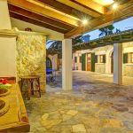 Ferienhaus Mallorca MA43507 überdachte Terrasse