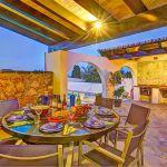 Ferienhaus Mallorca MA43507 Esstisch auf der Terrasse