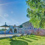 Ferienhaus Mallorca MA43507 Rasenfläche um den Pool