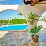 Ferienhaus Mallorca MA43507 Terrasse am Swimmingpool
