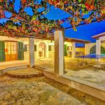 Ferienhaus Mallorca MA43507 Terrasse mit Beleuchtung