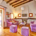 Ferienhaus Mallorca MA43507 Wohnbereich mit Sitzgruppe