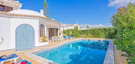 Villa Algarve Castelo 3008 mit privatem Pool für 6 Personen, Strand = 900m. An- und Abreisetag Samstag, Nebensaison flexibel auf Anfrage.