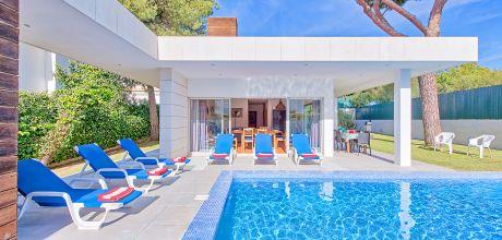 Ferienhaus Algarve Albufeira 3014 mit privatem Pool für 6 Personen, Strand = 1,6 km. Wechseltag Samstag, Nebensaison flexibel auf Anfrage – Mindestmietzeit 1 Woche. 2019 buchbar.