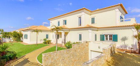 Ferienhaus Algarve Albufeira 4610 mit privatem Pool für 8 Personen am Golfplatz, Strand = 3 km. Wechseltag Samstag, Nebensaison flexibel auf Anfrage – Mindestmietzeit 1 Woche.