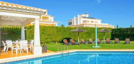 Ferienhaus Algarve Sao Rafael 4611 mit privatem Pool für 8 Personen in Strandnähe (ca. 400 m). Wechseltag Samstag, Nebensaison flexibel auf Anfrage gegen Aufpreis – Mindestmietzeit 1 Woche.